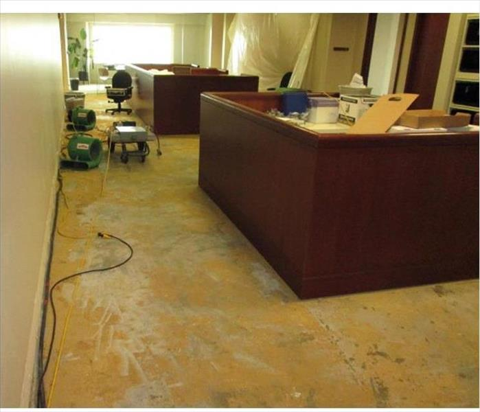 Office Suite Suffers a Water Loss in Fort Walton Before
