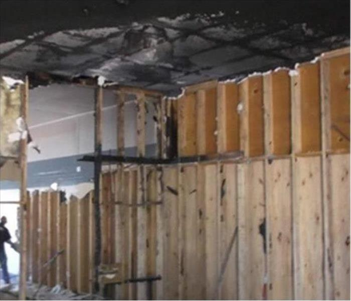 Commercial Fire Damage - Fort Walton Beach Warehouse   Before