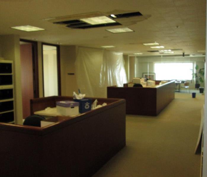 Office Suite Suffers a Water Loss in Fort Walton After