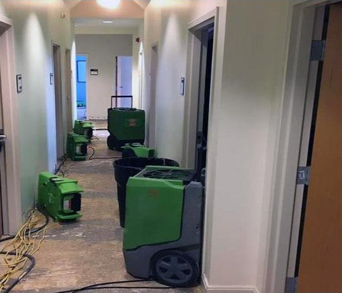 Commercial Water Damage Restoration In Destin Before