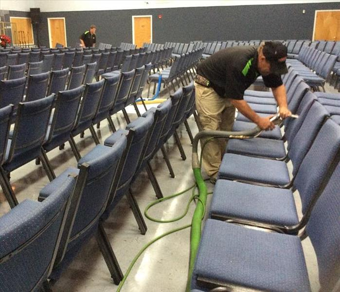 Cleaning 500 Church Chairs in Fort Walton Beach