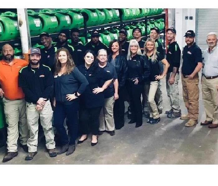 Fort Walton Beach SERVPRO Team Uses Technology for Water Removal
