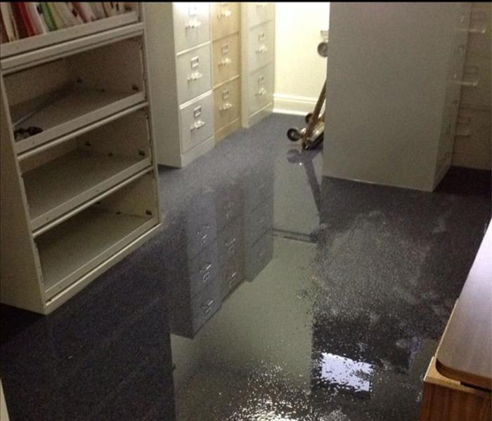 Water Damage Flooding due to heavy rain fall in Fort Walton Beach and Destin area.