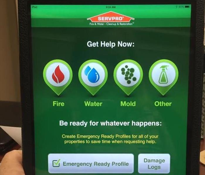 Commercial SERVPRO Ready Plan Mobile App
